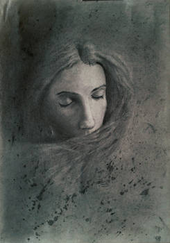 Portrait in charcoal #2