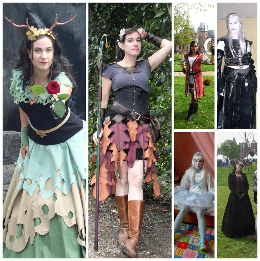 Kira's Costume Collage by KiraVanndrea