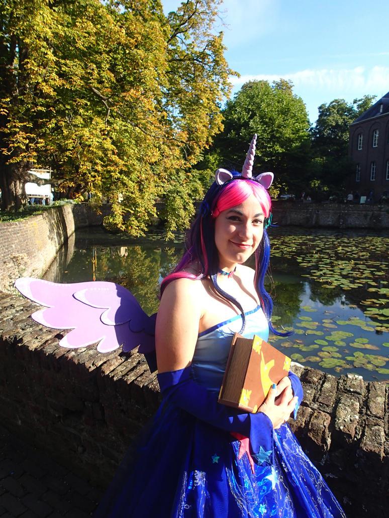 Twilight Sparkle gala dress cosplay close up by KiraVanndrea