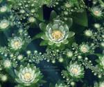 Fractal Snow Lotus