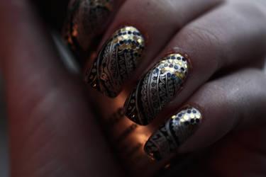 Nail Art 41 by LaraCb