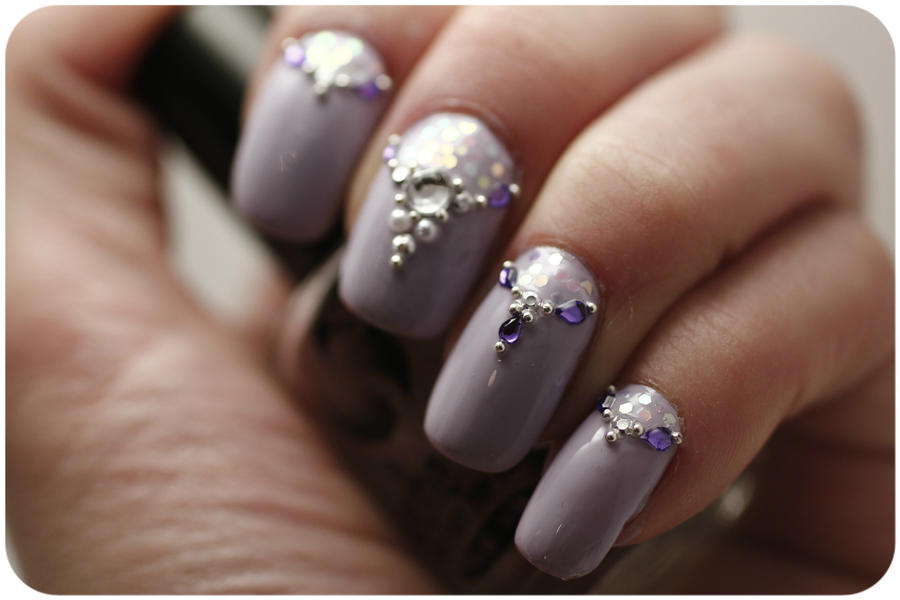 Nail Art 46 by LaraCb
