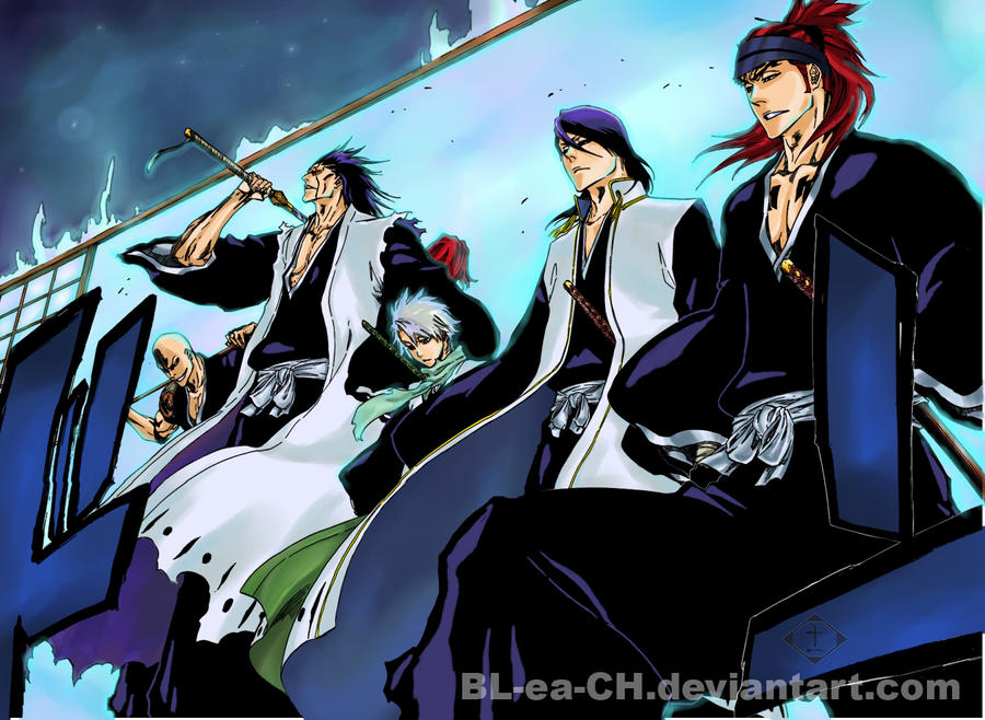 Nightmare43yume 30 9 BLEACH NEW LOOK By BL Ea CH