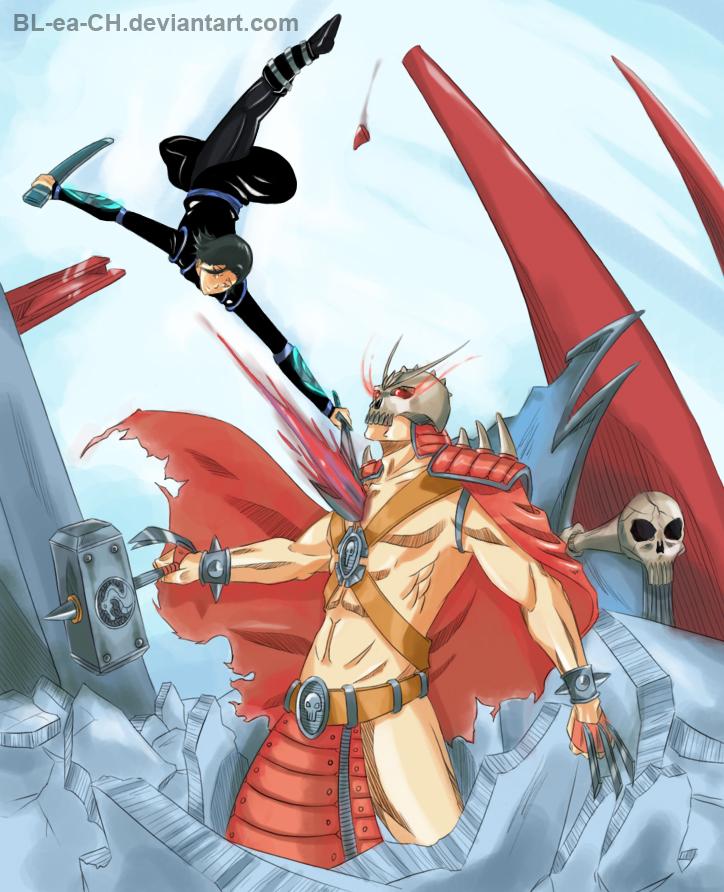 Comm: Tygerlander vs Shao Kahn by BL-ea-CH