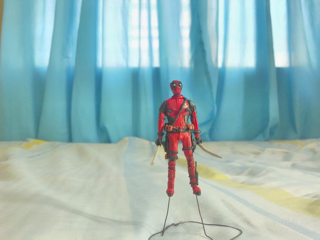 Deadpool Action Figure by BL-ea-CH