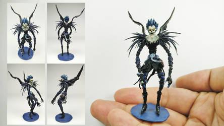 Ryuk Polymer Clay Figure by BL-ea-CH