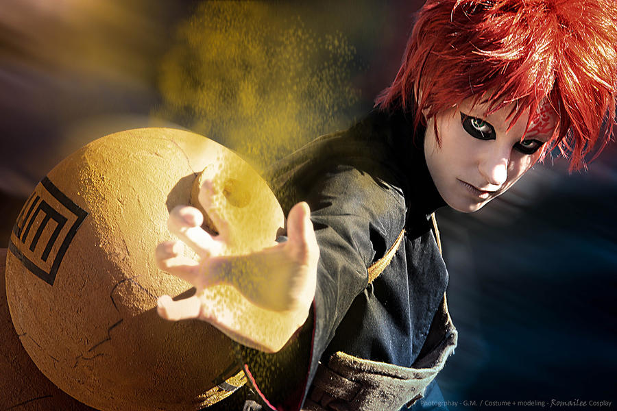Gaara - This is my weapon by RomaiLee