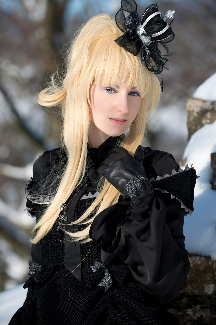 Lolita - Black queen by RomaiLee