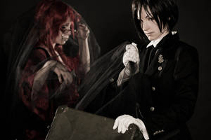 Sebastian + Grell - Does Grell fit into this case?