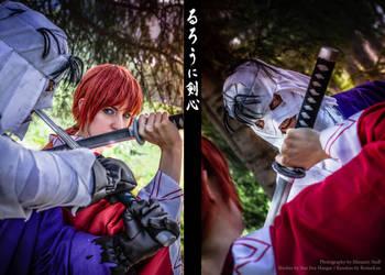 Kenshin - Shishio by RomaiLee