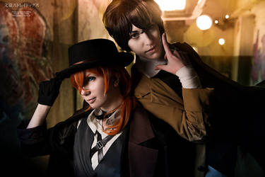 Bungou Stray Dogs - Chuuya and Dazai by RomaiLee