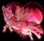Fairy Space Wolf by ThatxDamnxGirl