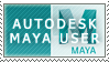 Autodesk Maya Stamp by ThatxDamnxGirl