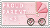 Proud Parent Stamp by ThatxDamnxGirl