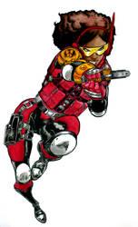 Hero 16: Misty Knight by nork