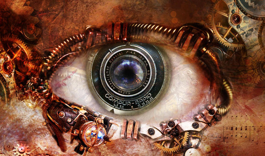 steampunk wallpaper eye - photo #8