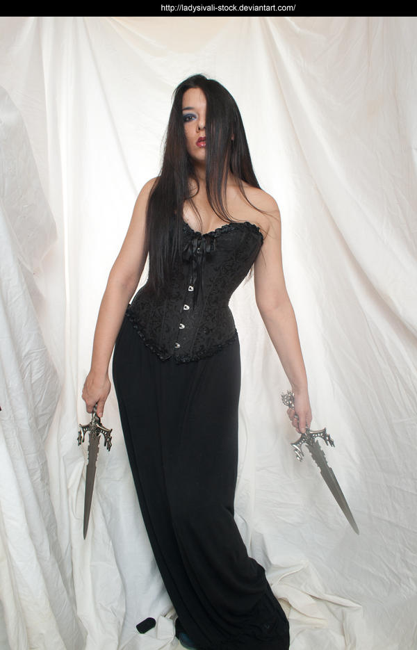 sivali daggers by ladysivali-stock