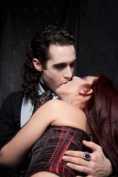 vampire kiss-ladysivali-stock by ladysivali-stock
