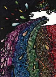 Rainbow Unicorn Doodles