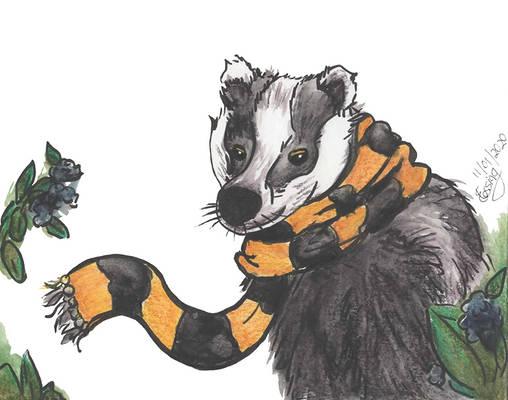 Birthday Hufflepuff Badger