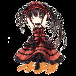 Date a Live - Kurumi - Chibi - Render
