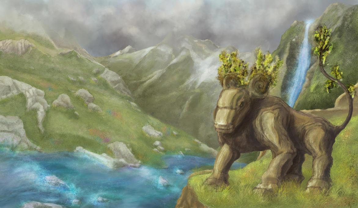 Spirit of the Mountains by Timortias