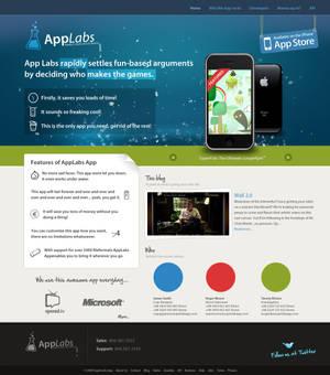 Super Lab App - Iphone Website