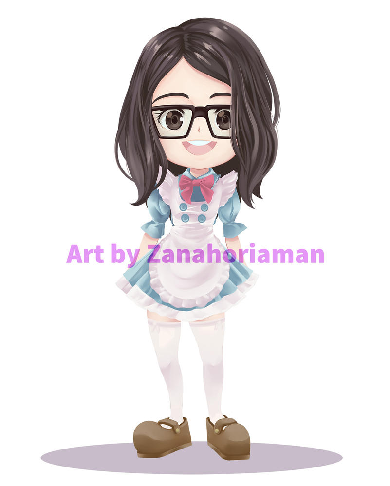Maid Comision by zanahoriaman