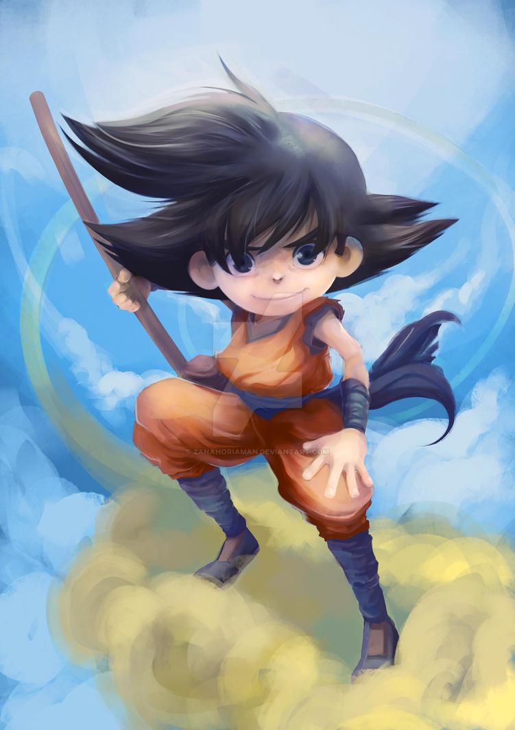 Son Goku by zanahoriaman