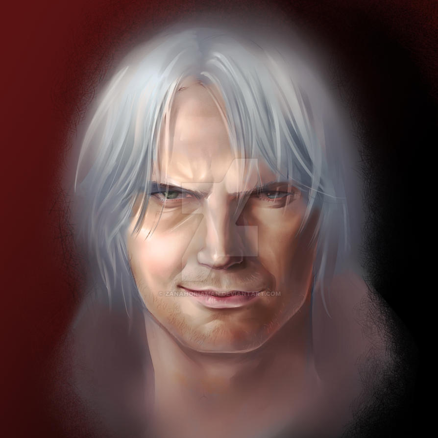 featuring dante from the devil may cry series by zanahoriaman