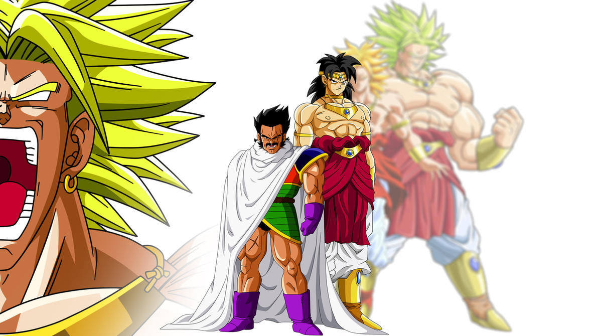 Paragus And Broly by Son-Of-Bardock on DeviantArt