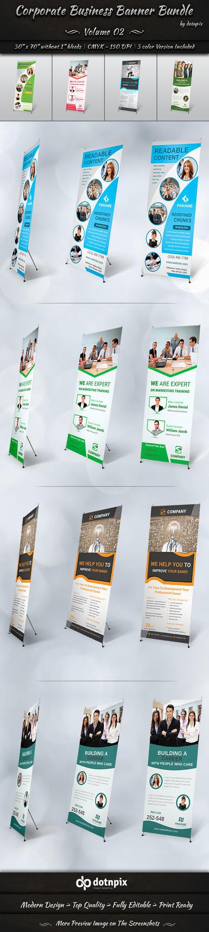 Corporate Business Banner Bundle | Volume 2 by dotnpix