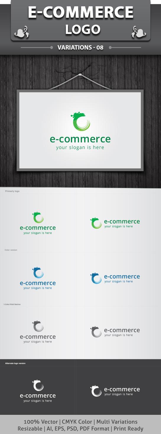 E-Commerce Logo by dotnpix