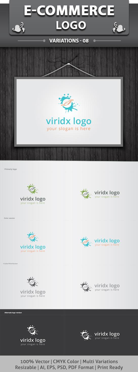Viridx Logo by dotnpix
