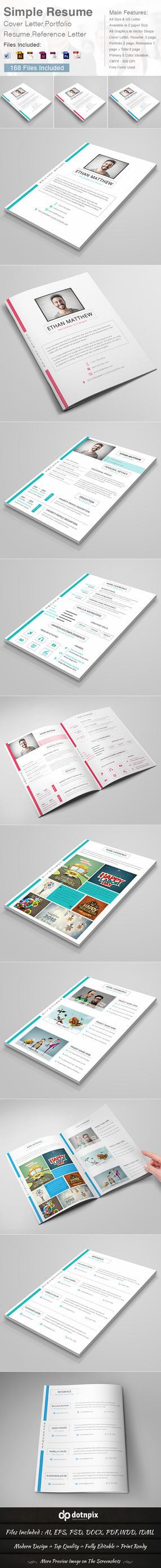 Simple Resume by dotnpix
