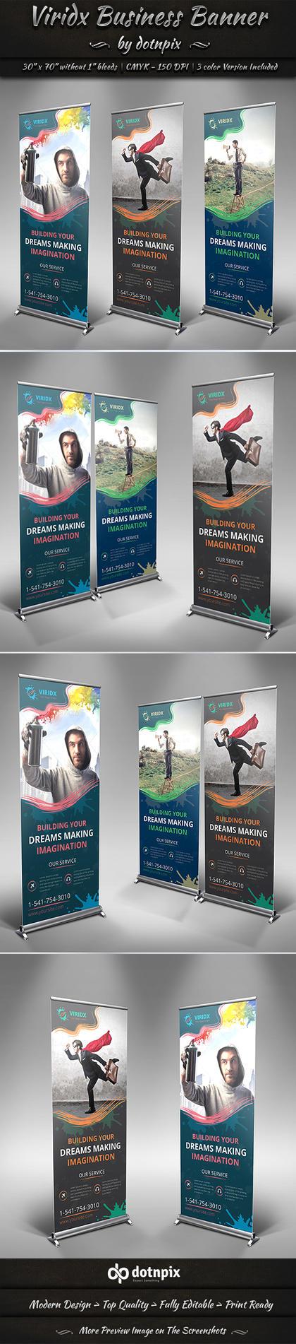 Viridx Business Banner by dotnpix