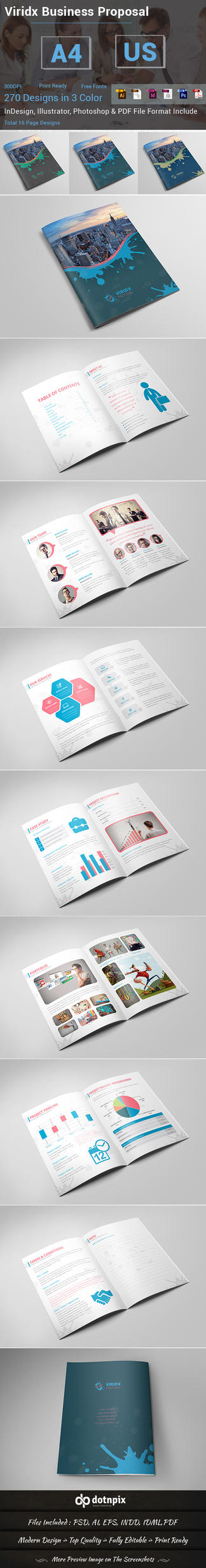 Viridx Business Proposal by dotnpix