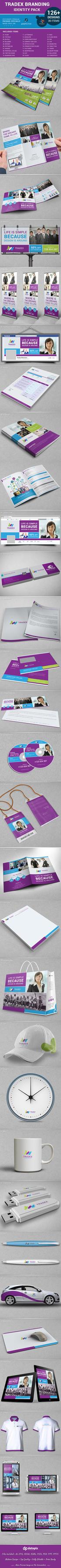 Tradex Branding Identity Pack by dotnpix