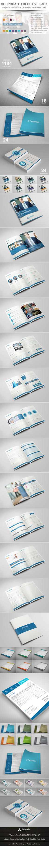 Corporate Executive Pack by dotnpix