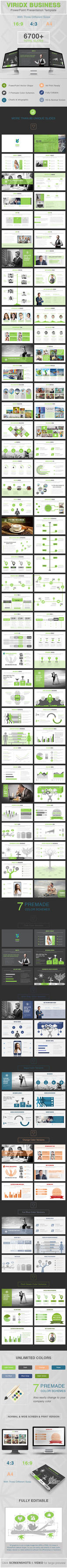 Viridx Business PowerPoint Presentation Template by dotnpix
