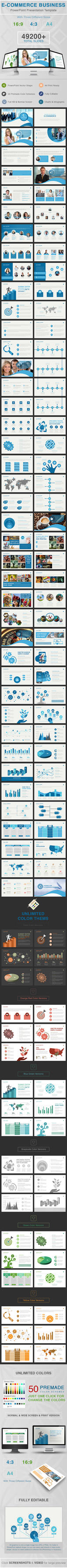 E-Commerce Business Powerpoint by dotnpix
