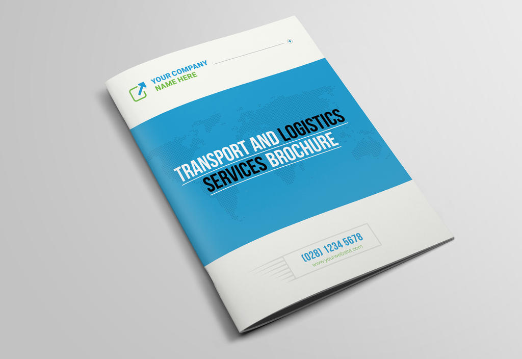 Transport And Logistics Services Brochure by dotnpix