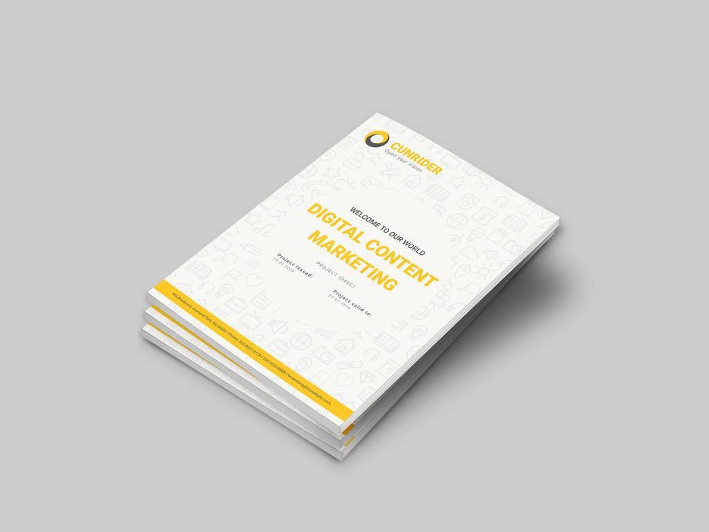 Content Marketing Proposal by dotnpix