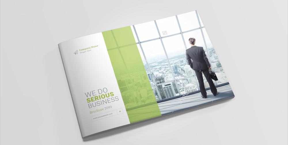 Landscape Brochure Templates by dotnpix