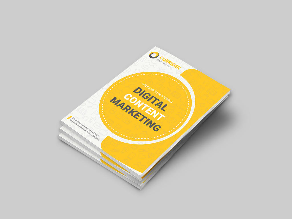 Content Marketing Brochure by dotnpix