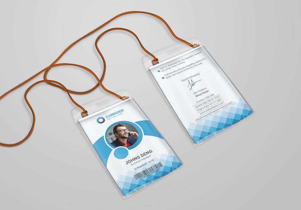 Corporate ID Card by dotnpix