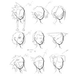 Hair Styles Vol 2 by FabledCreative