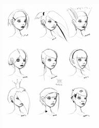 Hair Styles Vol 13 by FabledCreative