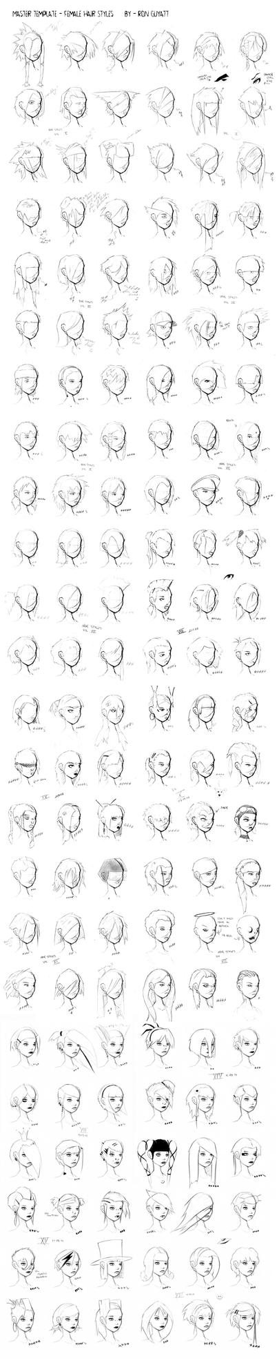 Hair Styles by FabledCreative