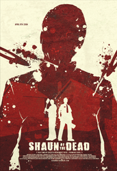 Shaun of the Dead by FabledCreative